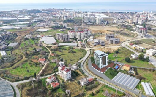 Apartments for sale in a residential project